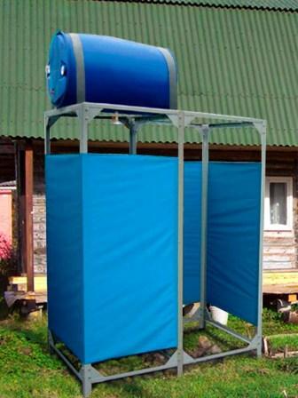 Летний душ на даче фото